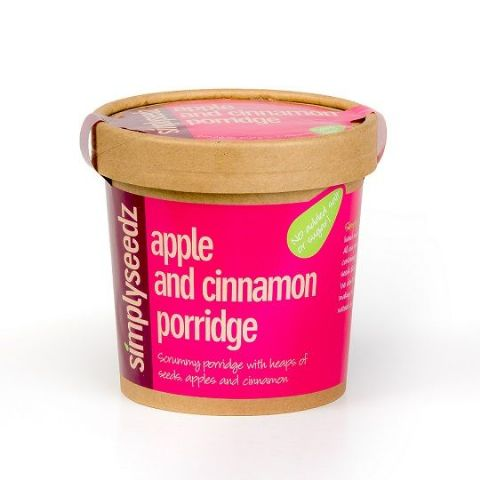 Apple & Cinnamon Instant Porridge Pot 60g